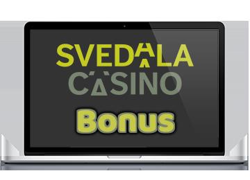 Insättningsbonus hos Svedala Casino